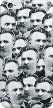 Sea Of Nietzsches iPhone Case by deadphilosopher
