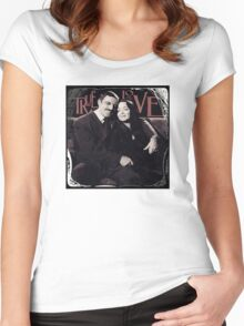 Gomez & Morticia Addams: True Love Women's Fitted Scoop T-Shirt