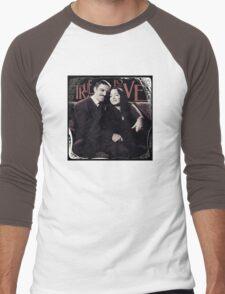 Gomez & Morticia Addams: True Love Men's Baseball ¾ T-Shirt