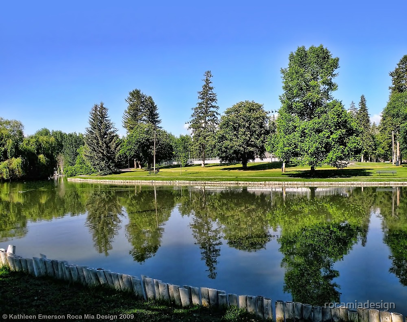 Woodland Park - Kalispell, Montana (USA) by rocamiadesign