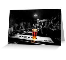 Bar Room Light Greeting Card