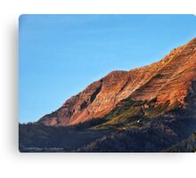 Great Northern Mountain Canvas Print