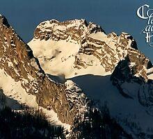 Mountain Christmas ~ Austria ~ Europe by Sabine Jacobs