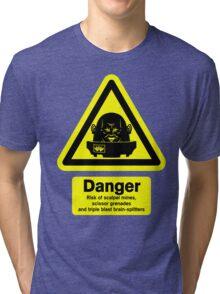 Sontaran Danger! Tri-blend T-Shirt