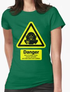 Sontaran Danger! Womens Fitted T-Shirt