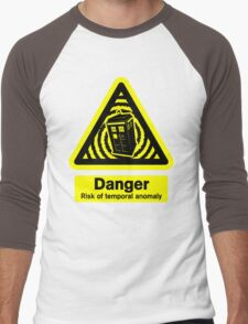 Tardis Danger! Men's Baseball ¾ T-Shirt