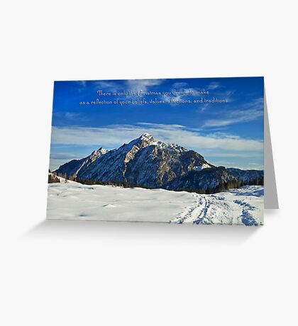Christmas in Austria ~ Europe Greeting Card