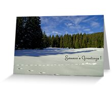 Season's Greetings ~ Austria ~ Europe Greeting Card