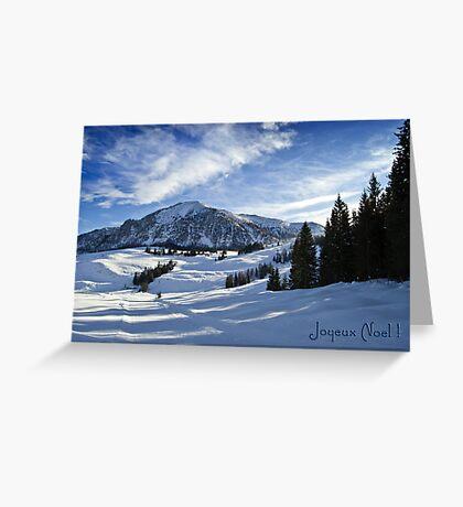 Joyeux Noel ~ Austria ~ Europe Greeting Card