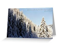 Winter Wonderland ~ Austria ~ Europe Greeting Card