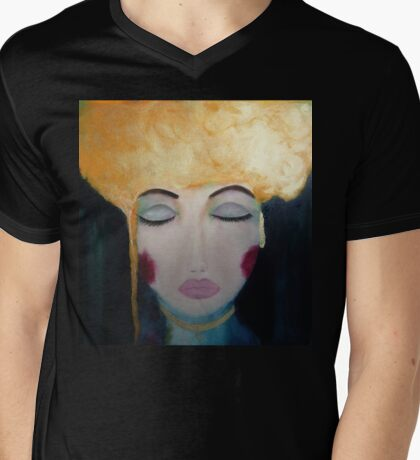 Breathless and Torn Mens V-Neck T-Shirt