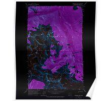 USGS Topo Map Washington State WA Forbidden Peak 241151 1963 24000 Inverted Poster