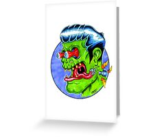 Freaky Frankie (Color) Greeting Card