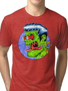 Freaky Frankie (Color) Tri-blend T-Shirt