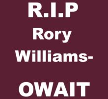 R.I.P Rory Williams by Martin Sarich