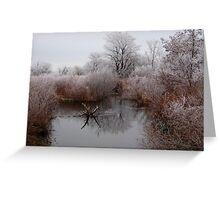 Closed for Winter Greeting Card