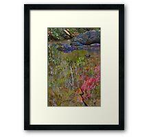 Impressionist Close Up (view larger) Framed Print