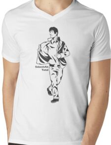 SebastiAn - Total (Original Artwork) Mens V-Neck T-Shirt
