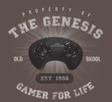Property of the Genesis - Athletic Style Shirt - Light by thehookshot