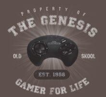 Property of the Genesis - Athletic Style Shirt - Light by thehookshot
