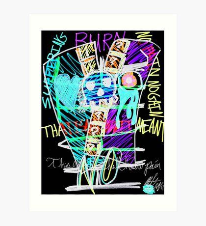 Crux (Pain Inverted) Art Print