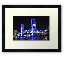 Bridge Over St Johns Framed Print