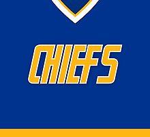 Charlestown Chiefs Away Jersey by Russ Jericho