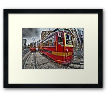 The Free Trams Framed Print