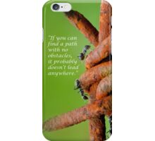 obstacles 2 iphone case iPhone Case/Skin