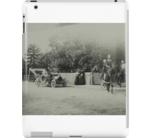 Vintage photo - festival street scene iPad Case/Skin