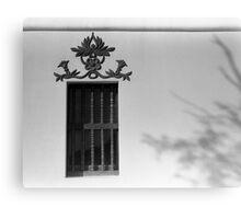 Window and Shadow Canvas Print