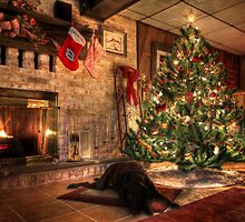 Waiting for Santa by Lori Deiter