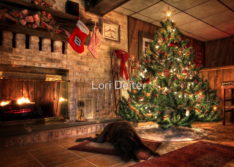 Waiting for Santa by Lori Deiter