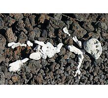 Rock Figure Photographic Print
