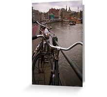 Bikes & Canals Greeting Card