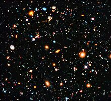 Hubble Ultra Deep Field Photographic Print