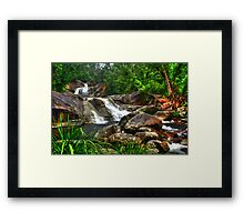 Josephine Falls top creek Framed Print