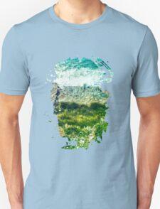 Land, Cliff, Sea Unisex T-Shirt