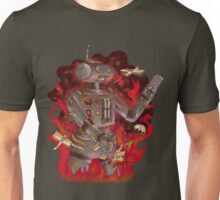 Robot Attacks Unisex T-Shirt