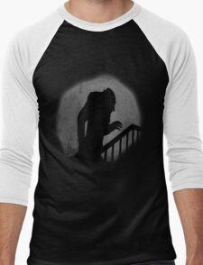 Nosferatu Silhouette Men's Baseball ¾ T-Shirt