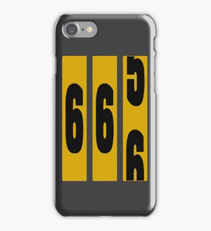 TWO THIRDS FULL iPhone Case/Skin