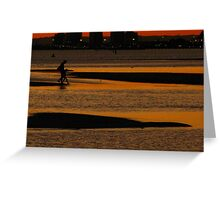 Walking with the Tides Greeting Card