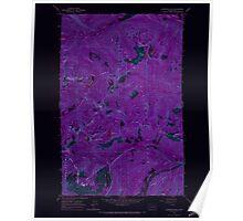 USGS Topo Map Washington State WA Labyrinth Mtn 241836 1965 24000 Inverted Poster