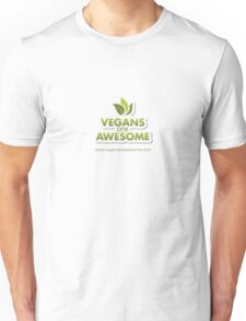 Vegans are Awesome Unisex T-Shirt