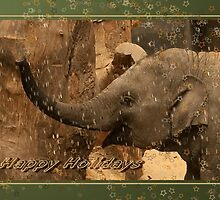 Little elephant stars - Happy Holidays by steppeland