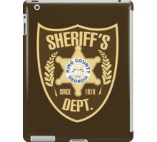 King County Sheriffs Department iPad Case/Skin