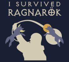 I Survived Ragnarok (Wolves) Kids Clothes