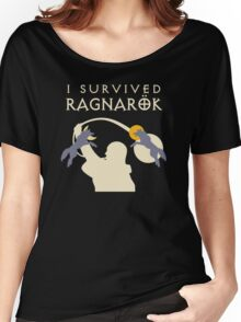 I Survived Ragnarok (Wolves) Women's Relaxed Fit T-Shirt