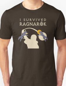 I Survived Ragnarok (Wolves) T-Shirt