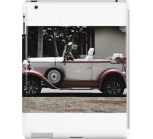 Classic Old Convertible Car iPad Case/Skin